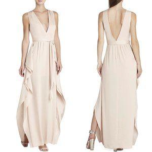 BCBG Women's Sz4 Pink Formal Bridesmaid Prom Dress